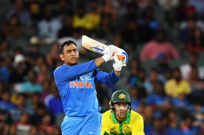 India Tv - MS Dhoni scored 55* off 54 balls in the second ODI