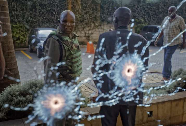 India Tv - Kenya: Somalia-based Islamic extremist group al-Shabab claims attack hotel in Nairobi