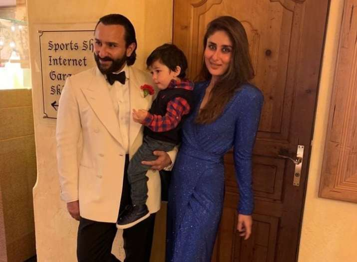 Inside Saif Ali Khan, Kareena Kapoor and Taimur's voguish New Year Celebrations