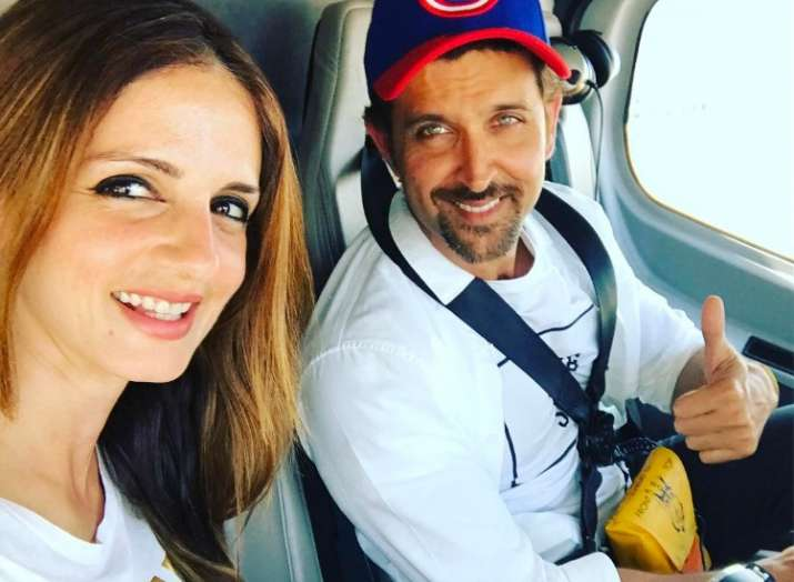 India Tv - Sussanne Khan's birthday wish for soulmate Hrithik Roshan is pure gold