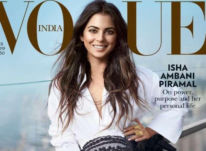 Isha Ambani sizzles on fashion magazine cover like a true diva