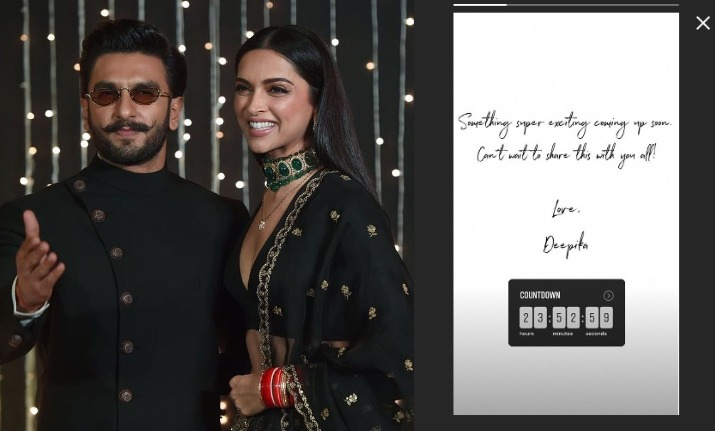 deepika padukone announcement on birthday