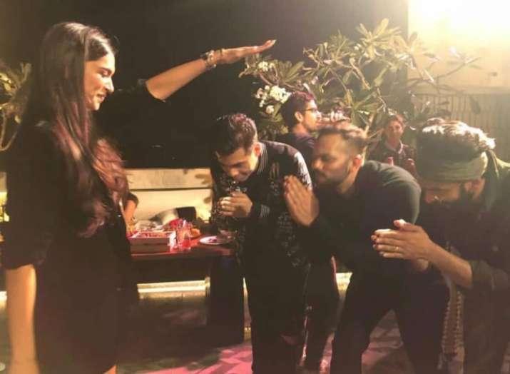 Ranveer Singh reveals reason behind 'Lakshmi' Deepika Padukone blessing Simmba team