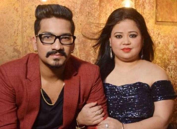Drug Probe NCB Raids Bharti Singh Husband Haarsh Limbachiyaa s House Recovers Cannabis Entertainment News India TV