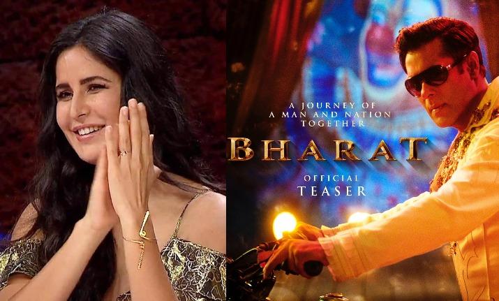 katrina kaif in bharat teaser