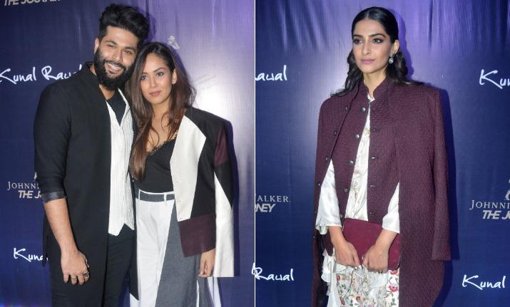 Mira Rajput, Sonam Kapoor turn heads at Kunal Rawal's