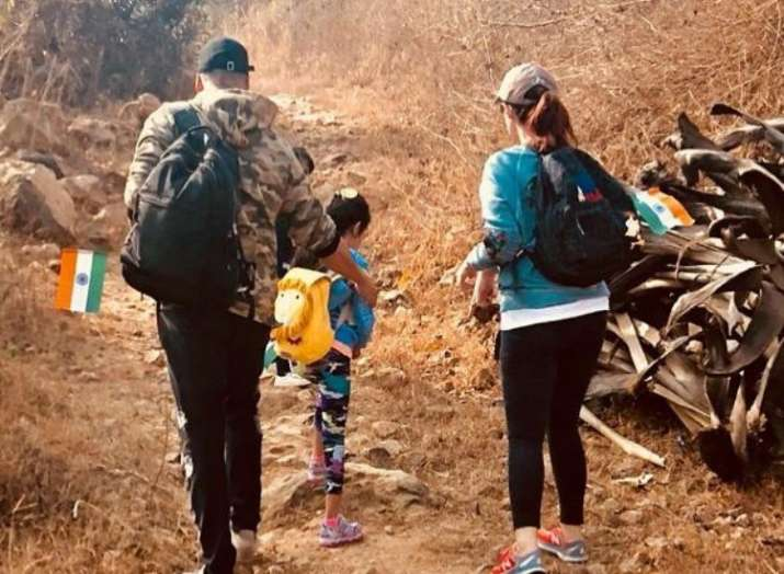 Akshay Kumar celebrated Republic Day by going for 'patriotic hike' with wife Twinkle Khanna & daught