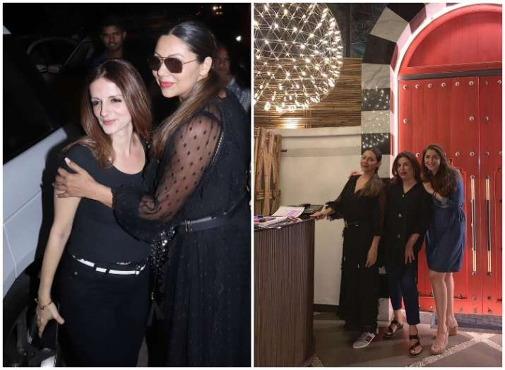 Gauri Khan enjoys 'Girls Night Out' with Sussanne Khan,