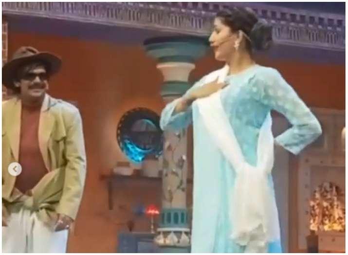 Sapna Choudhary sunil grover