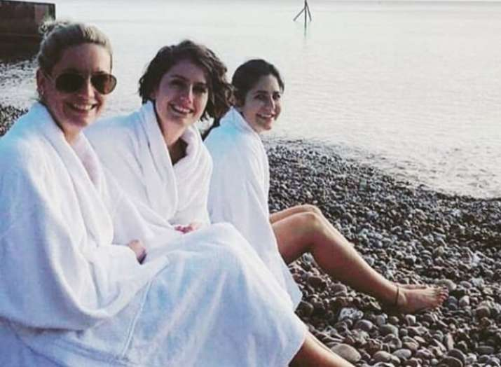 Katrina Kaif goes swimming with sisters in 0 degrees, comes out shivering