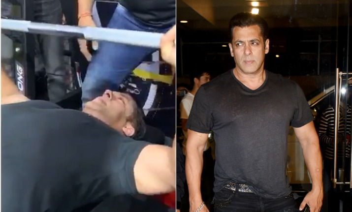 Bharat Star Salman Khan Does Crazy Bench Press In This Viral Video