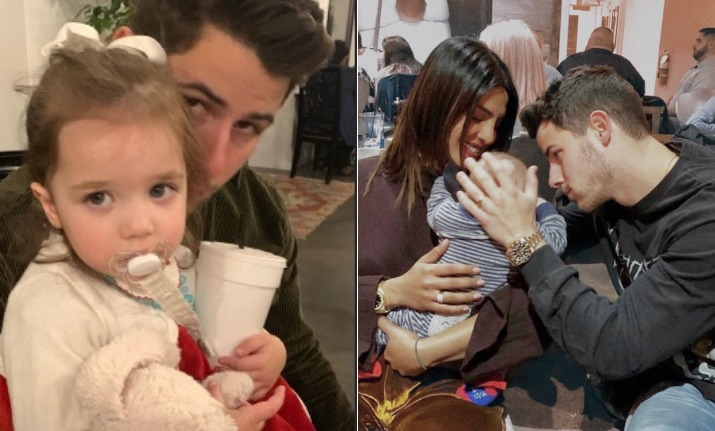 India Tv - Priyanka Chopra and Nick Jonas spend time with niece Valentina in LA. See pics