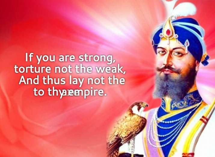 India Tv - If you are strong, torture not the weak, And thus lay not the axe to thy empire.