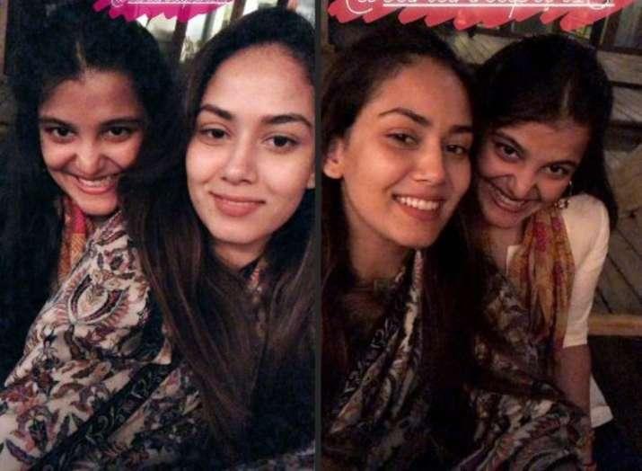 India Tv - Mira Rajput celebrates with daughter Misha