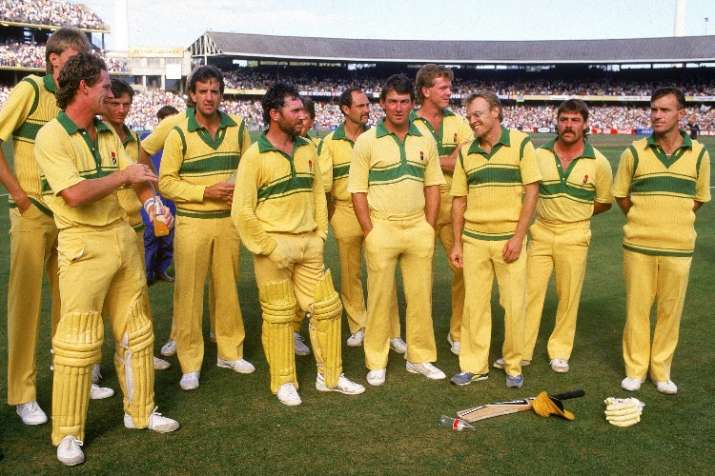 India Tv - The Allan Border led Australia team back in 1986