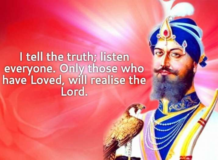 India Tv - I tell the truth; listen everyone. Only those who have Loved, will realise the Lord.