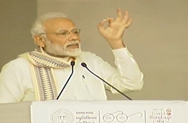 PM Modi in Ahmedabad: '10 per cent quota in general category due Govt's will'