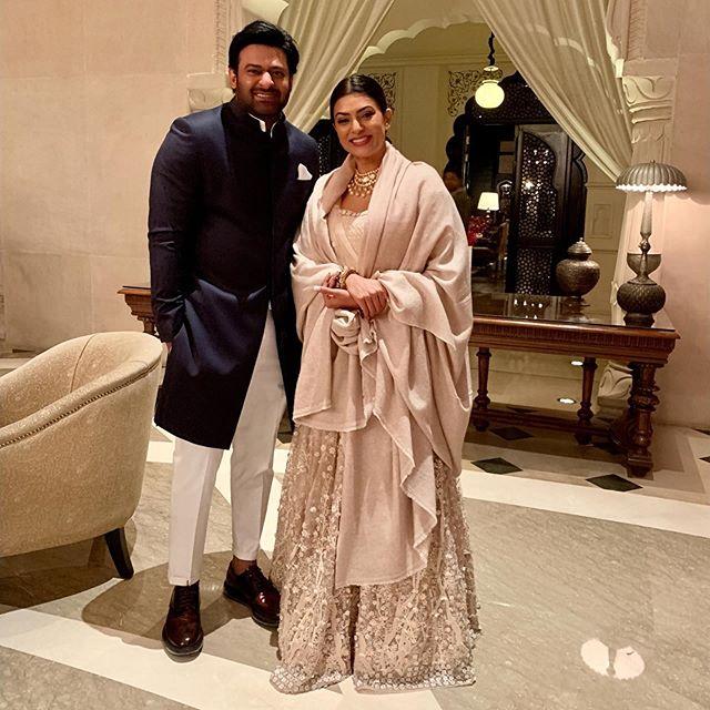India Tv - Sushmita Sen with Prabhas