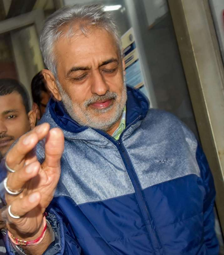 Lobbyist Deepak Talwar, arrested in a money laundering case