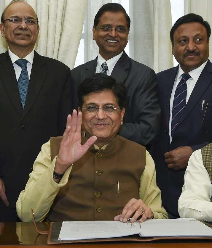 Interim Finance Minister Piyush Goyal