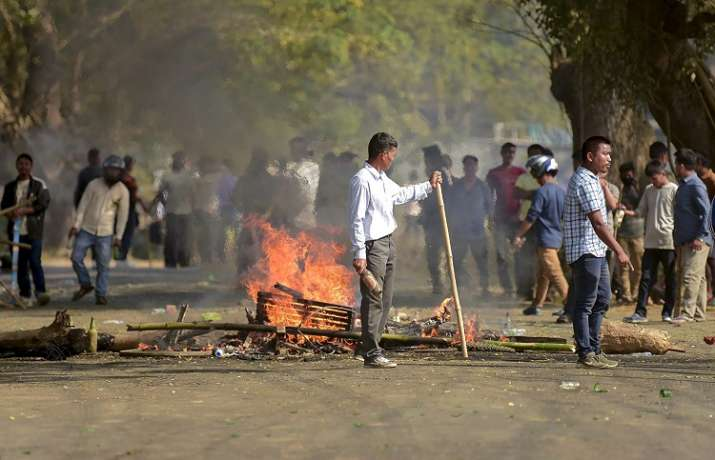India Tv - Bharat Bandh LIVE updates strike called by Central Trade Unions