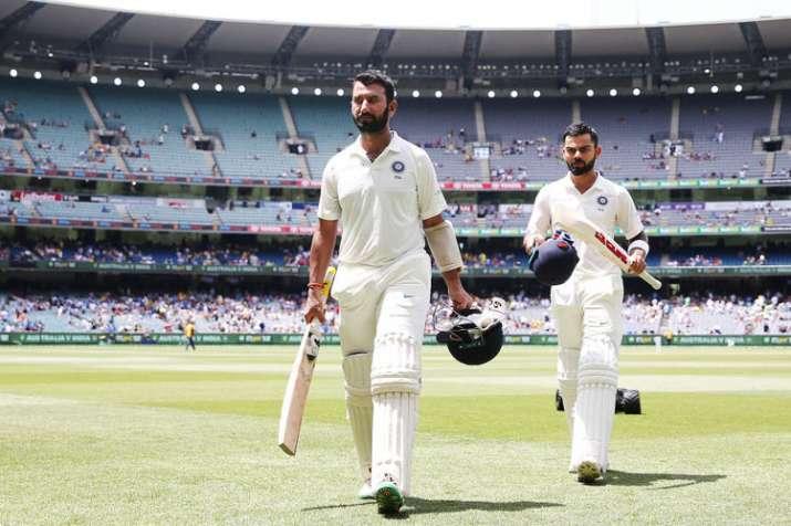 India Tv - Cheteshwar Pujara and Virat Kohli have led with the bat for India Down Under in 2018