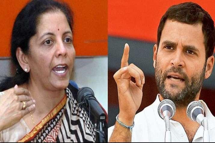 HAL debate: Sitharaman, Rahul demand each others'