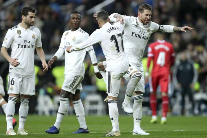 Real Madrid beat Girona in 1st leg of Copa del Rey quarterfinals