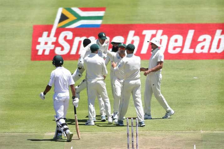 Aiden Markram starred with the bat for South Africa in