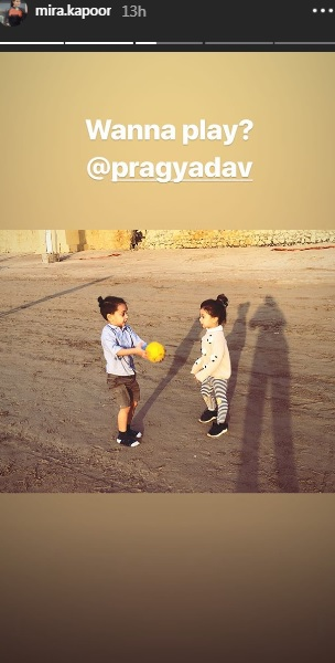 India Tv - Mira Rajput's Instagram story