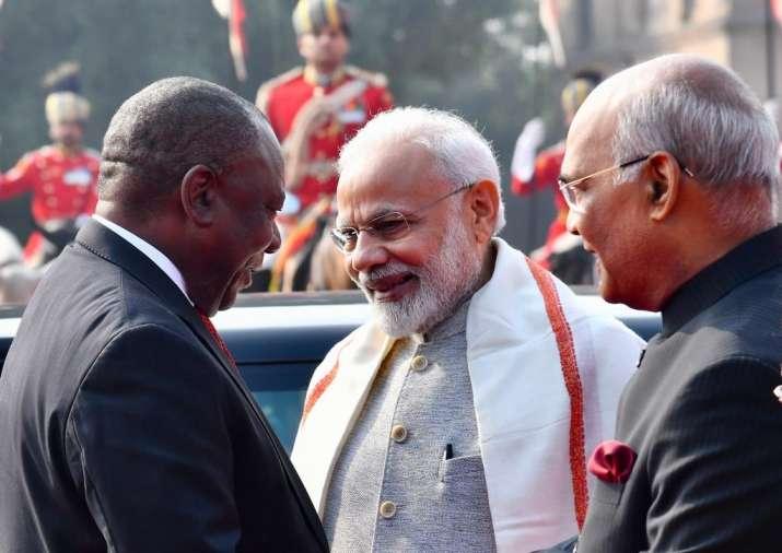 India Tv - SA President Cyril Ramaphosa
