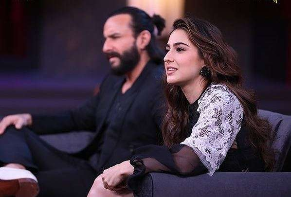saif ali khan not working with sara ali khan