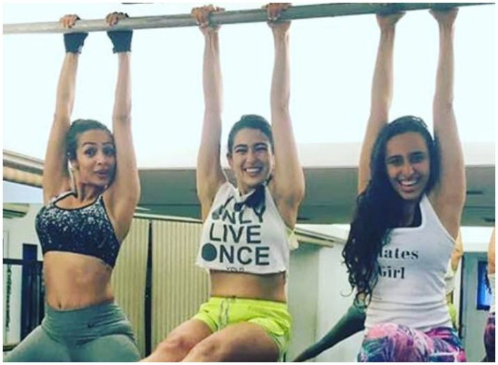 India Tv - Pics: Sara Ali Khan's gym looks are to die for, see for yourself