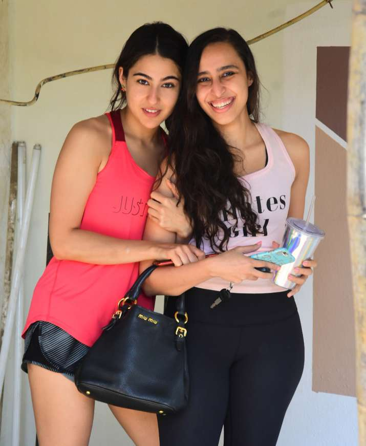 India Tv - Sara Ali Khan's latest pics with Namrata Purohit show Simmba's actress hard work to stay fit