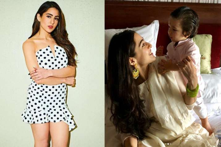 Simmba star Sara Ali Khan opens up about her baby brother Taimur's popularity