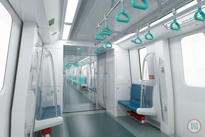 India Tv - The Aqua line, which will have 19 rakes with 4 cars each, will halt on the Sector 76, 101, 81, NSEZ, Noida Sector 83, 137, 142, 143, 144, 145, 146, 147, 148, and Greater Noida's Knowledge Park II, Pari Chowk, Alpha 1, Delta 1, GNIDA Office and Depot metro stations.