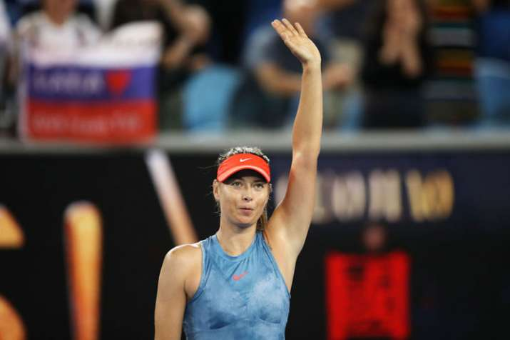 Australian Open: Sharapova up against Wozniacki after beating Peterson in second round