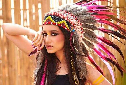 Shraddha Kapoor Receives Flak For Sporting War Bonnet In