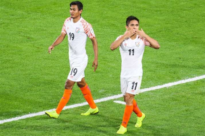AFC lauds Indian football team for its commendable show in