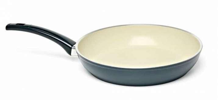 India Tv - Teflon coated cookware
