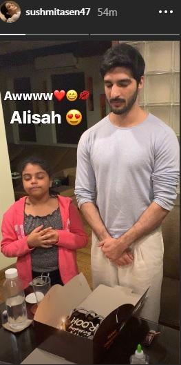 India Tv - sushmita sen boyfriend rohman shawl birthday
