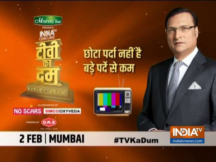 TV Ka Dum: India TV's mega conclave on the journey of Television in India