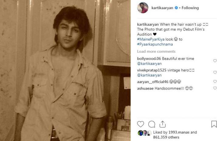 India Tv - Comments on Kartik Aaryan's Instagram picture