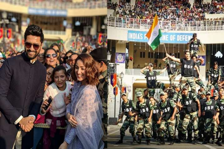 Vicky Kaushal, Yami Gautam, Varun Dhawan celebrate Republic Day at Attari-Wagah border