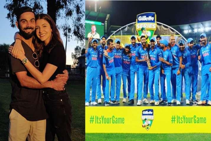 Anushka Sharma is proud of her LOVE Virat Kohli, congratulates Indian team for the historic win