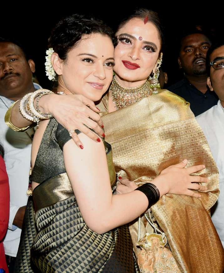 India Tv - Kangana and Rekha