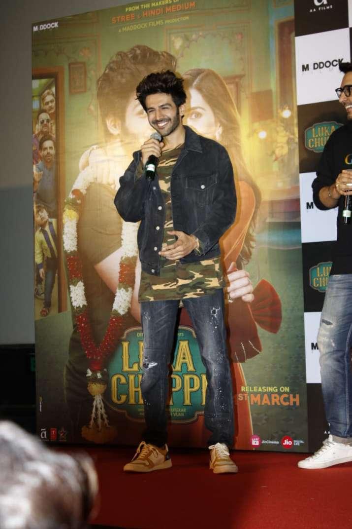 India Tv - Luka Chuppi trailer launch