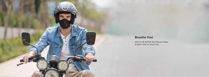 India Tv - Xiaomi Mi AirPOP PM2.5 air pollution mask