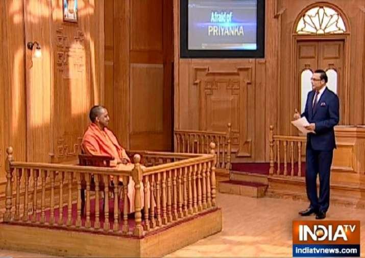 India Tv - UP CM Yogi Adityanath in Aap Ki Adalat
