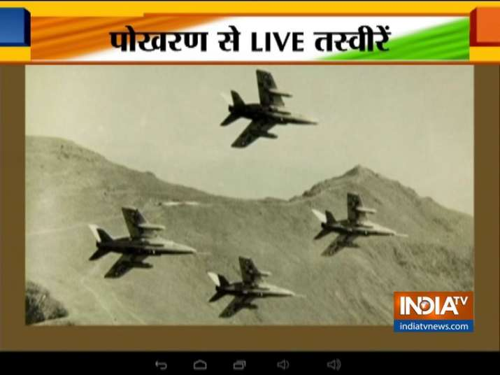 Indian Air Force carries out mega exercise at Pokhran